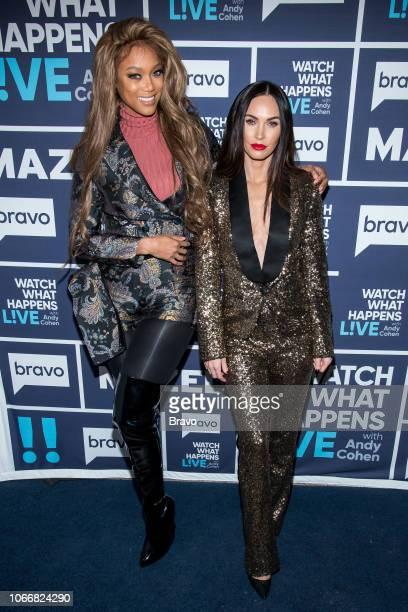 Tyra Banks and Megan Fox