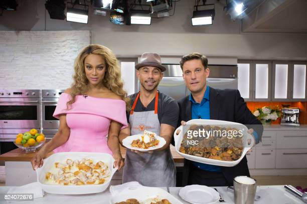 Tyra Banks Billy Deck and Keir Simmons on Friday July 28 2017