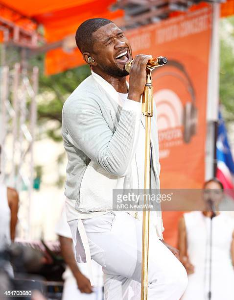 Usher appears on NBC News' Today show