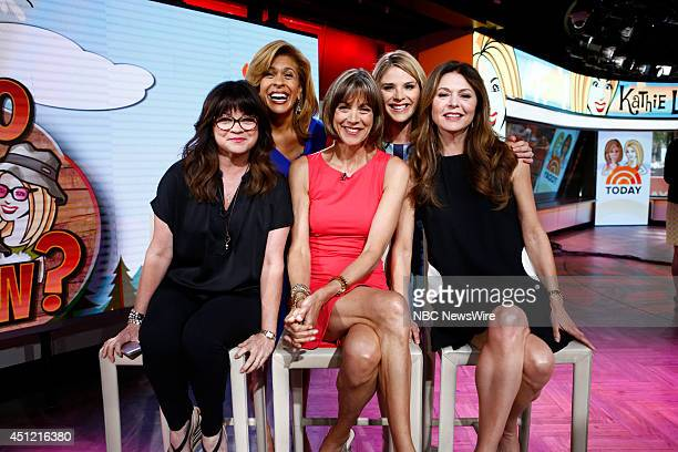 Valerie Bertinelli Hoda Kotb Wendy Malick Jenna Bush Hager and Jane Leeves appear on NBC News' Today show