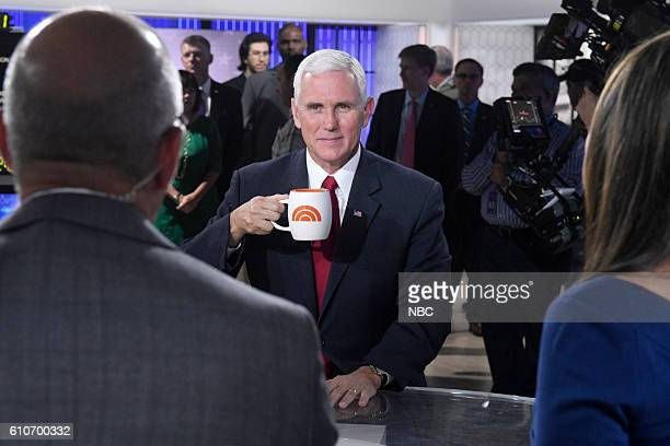Vice Presidential Candidate Mike Pence on Tuesday September 27 2016