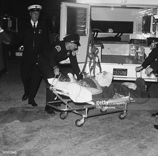 Victim who was shot by assassin Sirhan Sirhan who killed Robert Kennedy on June 5 1968 during his Presidential Campaign at the Ambassador Hotel in...