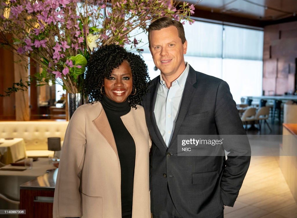 "NY: NBC's ""Sunday TODAY with Willie Geist"" with Viola Davis"