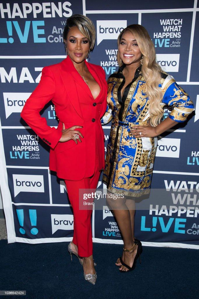 Vivica A. Fox and Mariah Huq --