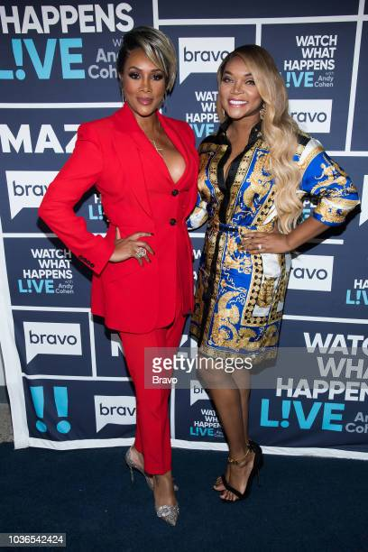 Vivica A Fox and Mariah Huq