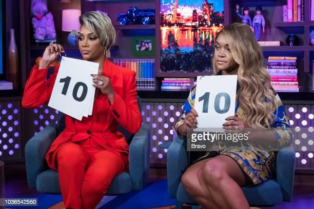 Vivica A Fox and Mariah Huq