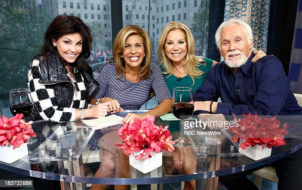 "Wanda Miller, Hoda Kotb, Kathie Lee Gifford and Kenny Rogers appear on NBC News' ""Today"" show --"