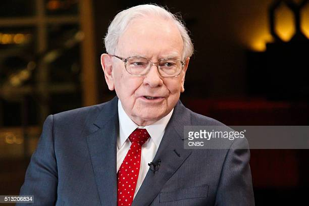 Pictured: Warren Buffett, chairman and CEO of Berkshire Hathaway, and consistently ranked among the world's wealthiest people, in an interview with...