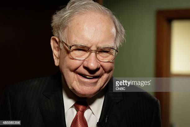 Warren Buffett in his office in Omaha Nebraska on August 4 2015