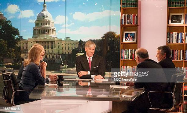 Washington Correspondent Katty Kay Political Consultant Mike Murphy Moderator David Gregory NY Times Columnist Tom Friedmam and Political Columnist...