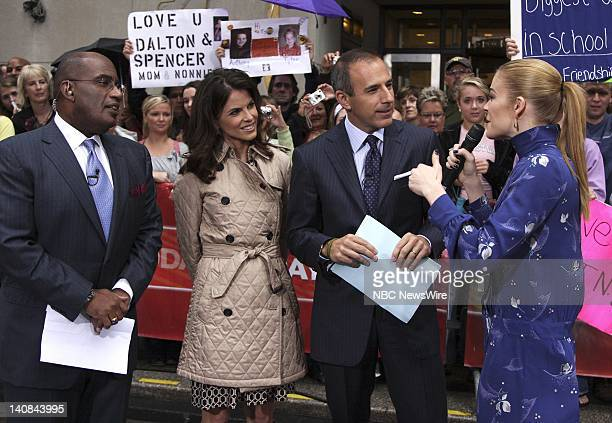 Weather and Feature Reporter Al Roker National Correspondent Natalie Morales and CoAnchor Matt Lauer speak with country singer LeAnn Rimes on the...