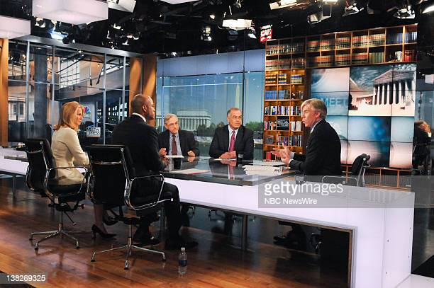 Wes Moore Author The Other Wes Moore front left Katty Kay Washington Correspondent BBC World News America far left EJ Dionne Columnist Washington...