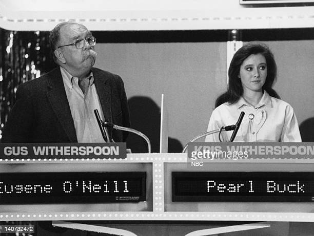Pictured Wilford Brimley as Gus Witherspoon Shannen Doherty as Kris Witherspoon Photo by NBCU Photo Bank