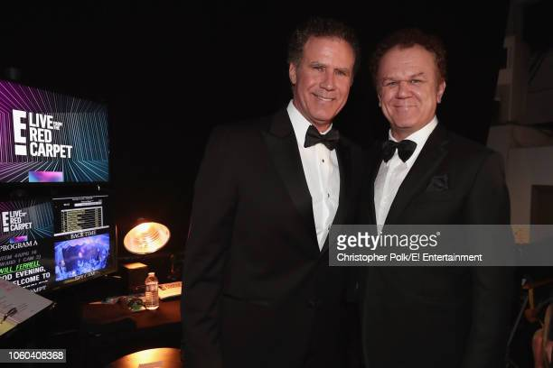 Will Ferrell and John C Reilly during the 2018 E People's Choice Awards held at the Barker Hangar on November 11 2018 NUP_185072