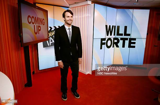 Will Forte appears on NBC News' Today show