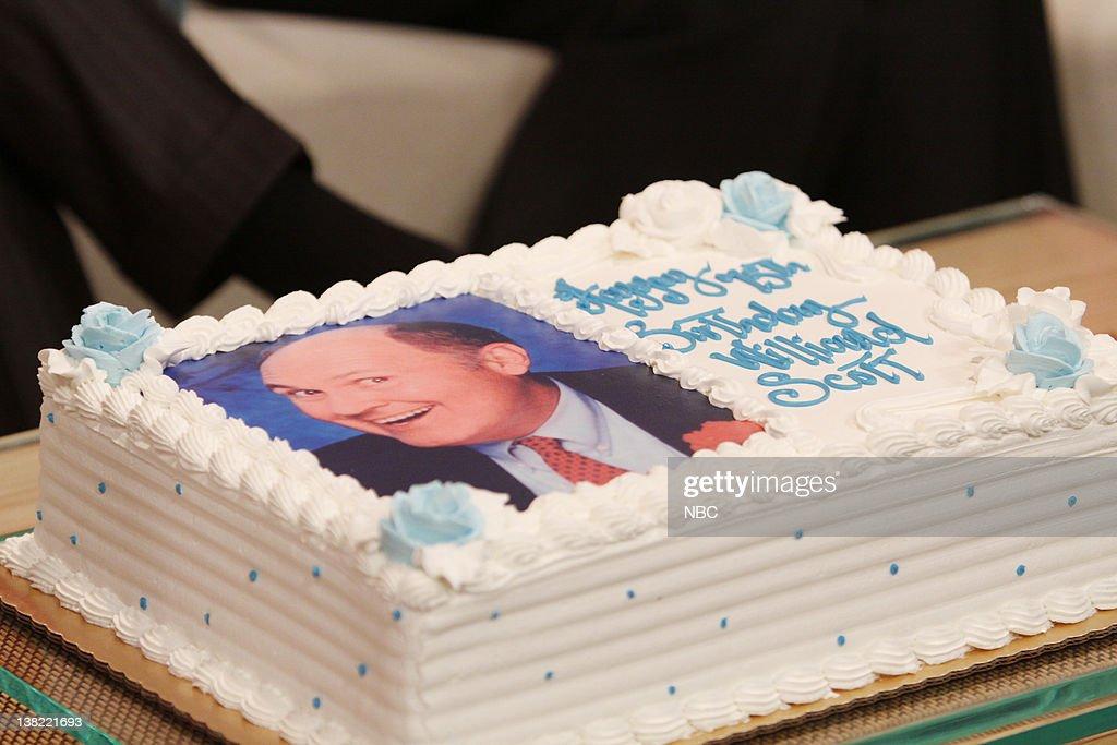 Willard Scotts 75th Birthday Cake News Photo Getty Images