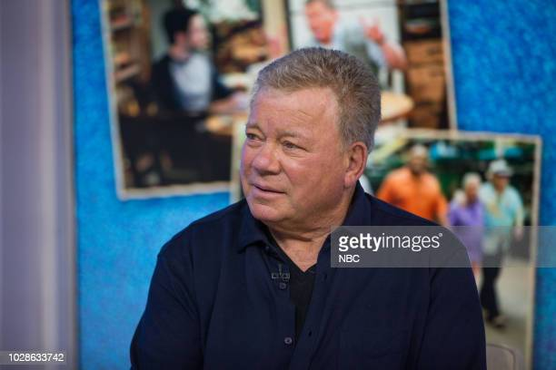 William Shatner on Friday, September 7, 2018 --