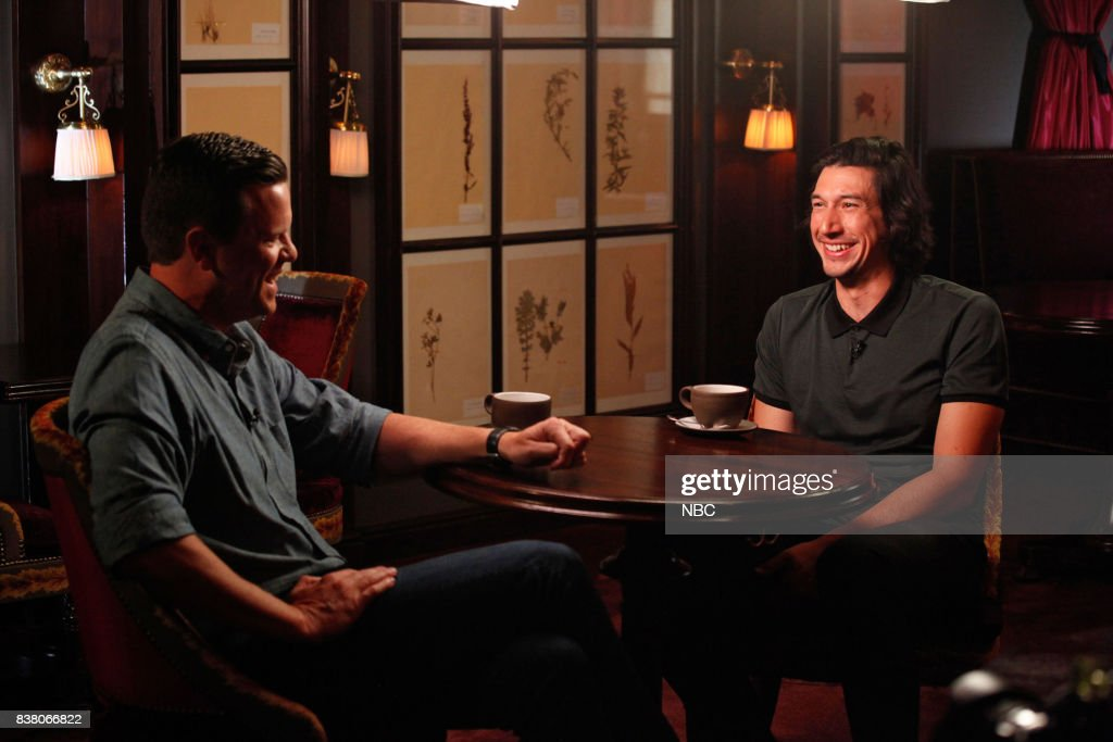 Willie Geist and Adam Driver on Tuesday, Aug. 01, 2017 --
