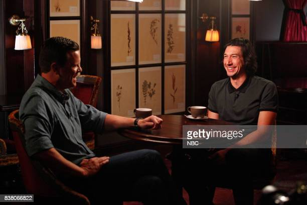 Willie Geist and Adam Driver on Tuesday Aug 01 2017