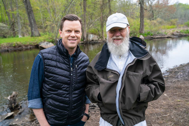"NY: NBC's ""Sunday TODAY with Willie Geist"" with David Letterman"
