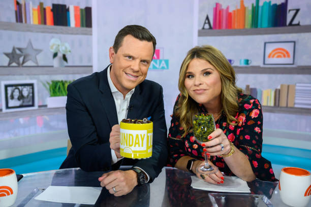 "NY: NBC's ""TODAY"" - Willie Geist, Stephanie Gosk, Rob Kugler, Heather McMahan, Chassie Post, Adam Richman"