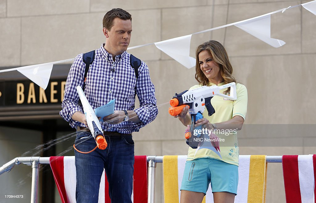 Willie Geist and Natalie Morales appear on NBC News' 'Today' show --