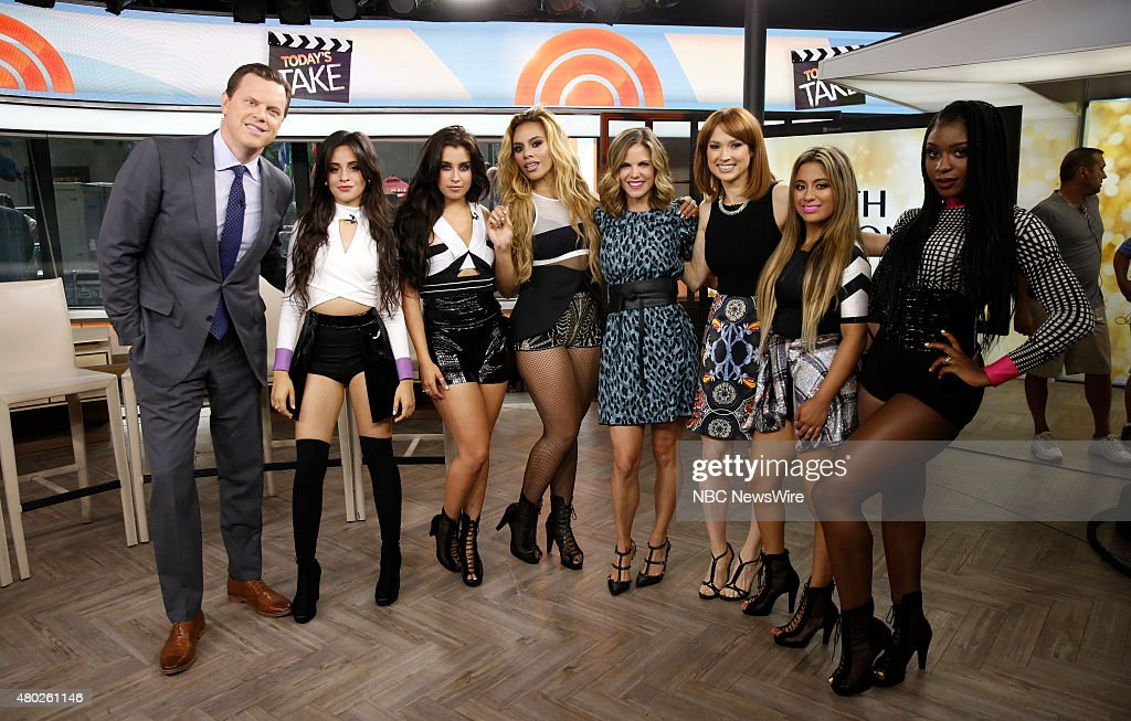 "NBC's ""Today"" With Guests Fifth Harmony, Shea Gallante, Abby Wambach, Hope Solo"