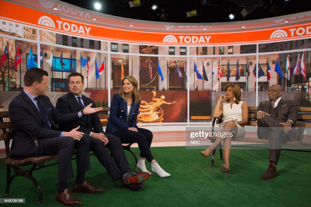 "NBC's ""TODAY"" With guests Siri Daly, Dating in the Digital Age, Wild Animals"