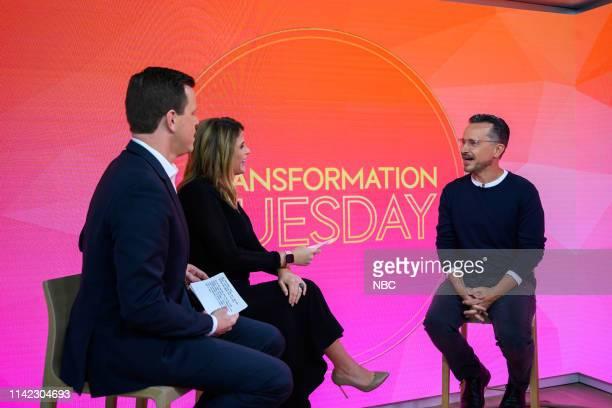 Willie Geist Jenna Bush Hager and Gary John Bishop on Tuesday May 7 2019