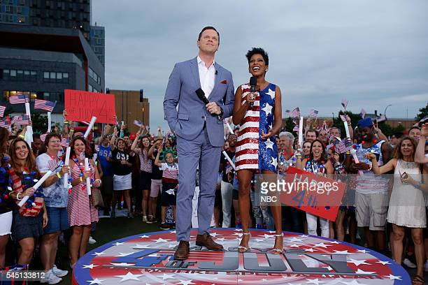 S FOURTH OF JULY FIREWORKS SPECTACULAR Pictured Willie Geist Tamron Hall