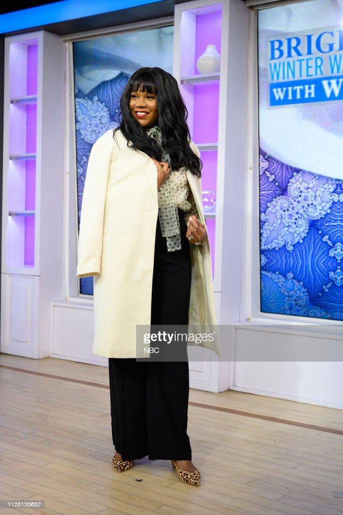 "NY: NBC's ""TODAY"" - Julia Michaels, Patti LaBelle, Quinn Daly, Joy Bauer, Arts & Crafts for Kids, Winter White Wardrobe"