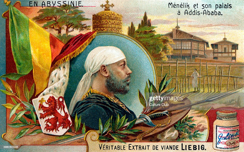 Menelik II- illustration : News Photo