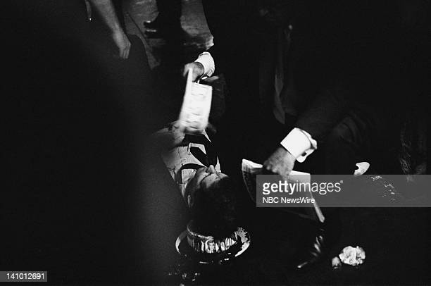 Wounded director of the United Auto Workers union Paul Schrade who was shot by assassin Sirhan Sirhan who killed Robert Kennedy on June 5 1968 during...