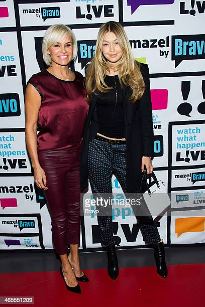Pictured : Yolanda Foster and Gigi Hadid -- Photo by: Charles Sykes/Bravo/NBCU Photo Bank via Getty Images