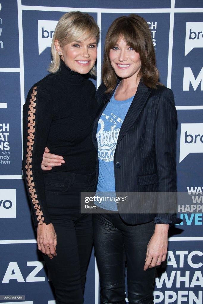 Yolanda Hadid and Carla Bruni --
