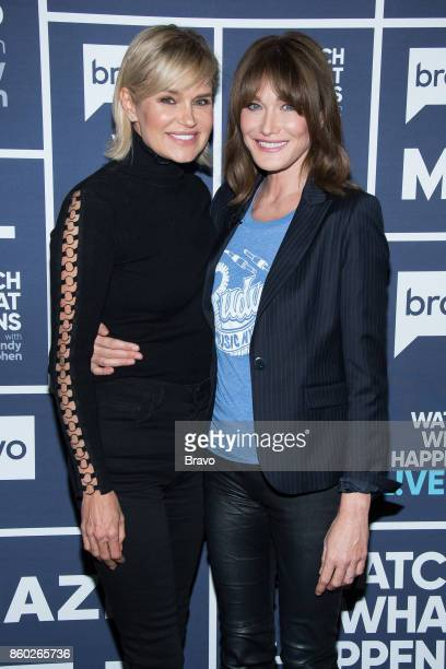Yolanda Hadid and Carla Bruni