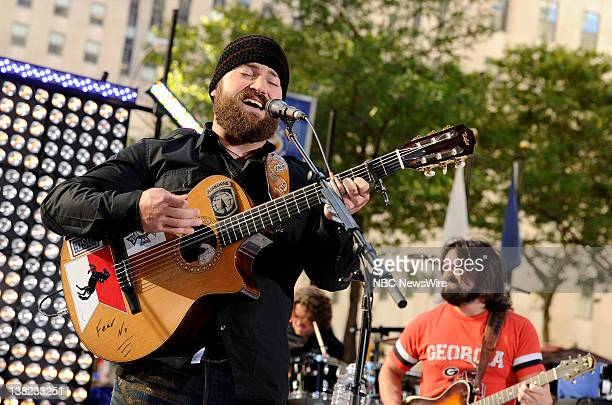 Zac Brown performs on NBC News' Today show