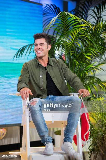 Zac Efron on Monday May 22 2017