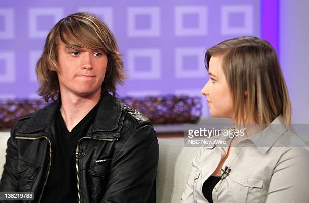 Zac Sunderland and Abby Sunderland appear on NBC News' 'Today' show