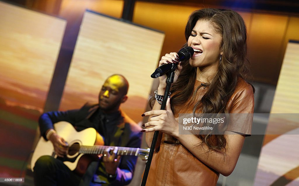 Zendaya appears on NBC News' 'Today' show --