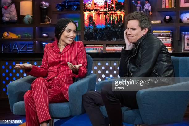 Zoe Kravitz and Eddie Redmayne