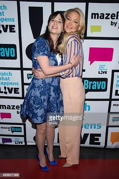 Zooey Deschanel and Kate Hudson