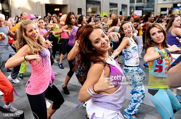 Zumba dancers appear on NBC News' 'Today' show