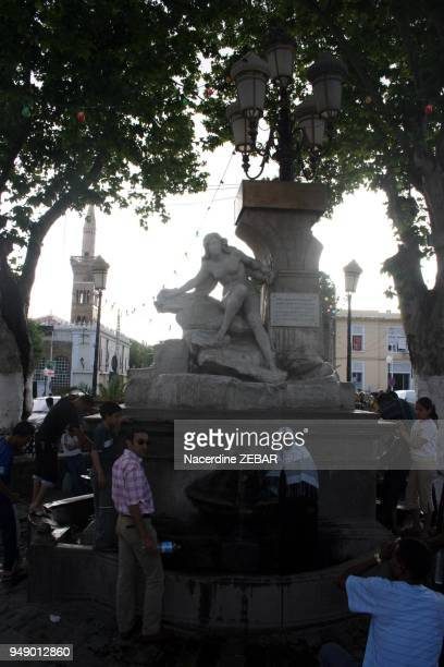 The famous fountain of Ain Fouara where all people come to drink of its fresh water It is in the city of Setif which is located to the south of the...