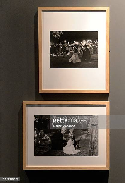 Pictures from the miracles that where filmed for the movie La Dolce Vita are shown as part of the Fellini Exhibition at Caermersklooster on October...