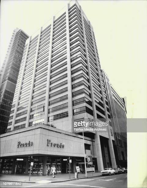 Pictures of Hooker House at the corner of Pitt and King Streets in the City which was today sold***** The building at 175 Pitt Street has been sold...
