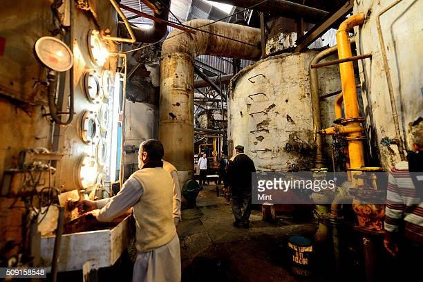 Pictures of Modi Sugar Mill on February 9 2015 in Modi Nagar India