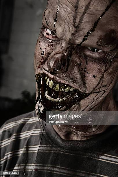 Pictures of Real Classic Zombie Outside a Old Farmhouse