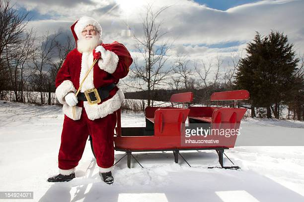 Pictures of Real Santa Claus in the Wilderness