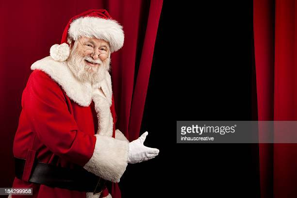 Pictures of Real Santa Claus Showing You Behind the Curtain